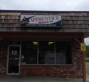 Apprentice Front Of Office